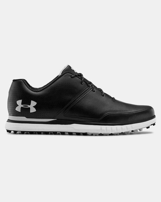 Men's UA AG Medal SL Wide E Golf Shoes, Black, pdpMainDesktop image number 0