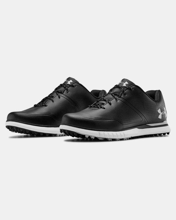 Men's UA AG Medal SL Wide E Golf Shoes, Black, pdpMainDesktop image number 4
