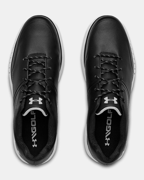 Men's UA AG Medal SL Wide E Golf Shoes, Black, pdpMainDesktop image number 3