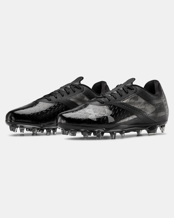 Men's UA Blur Lux MC Football Cleats, Black, pdpMainDesktop image number 4