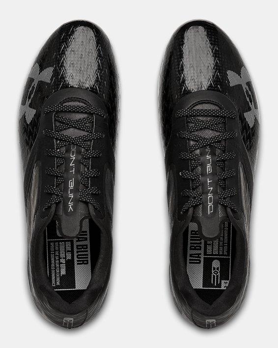 Men's UA Blur Lux MC Football Cleats, Black, pdpMainDesktop image number 3