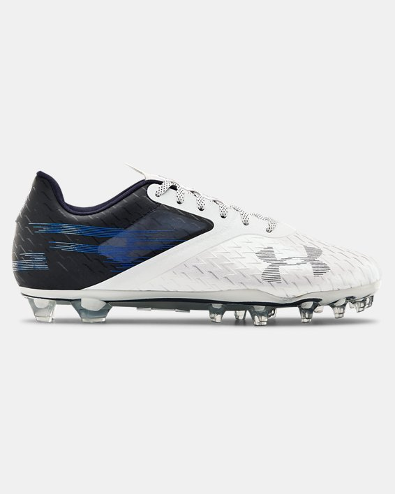 Men's UA Blur Lux MC Football Cleats, Navy, pdpMainDesktop image number 0