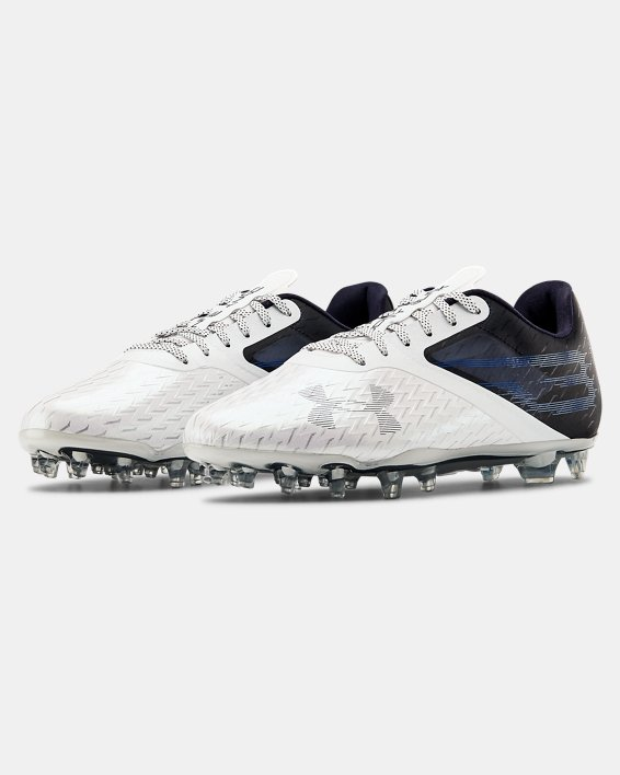Men's UA Blur Lux MC Football Cleats, Navy, pdpMainDesktop image number 4