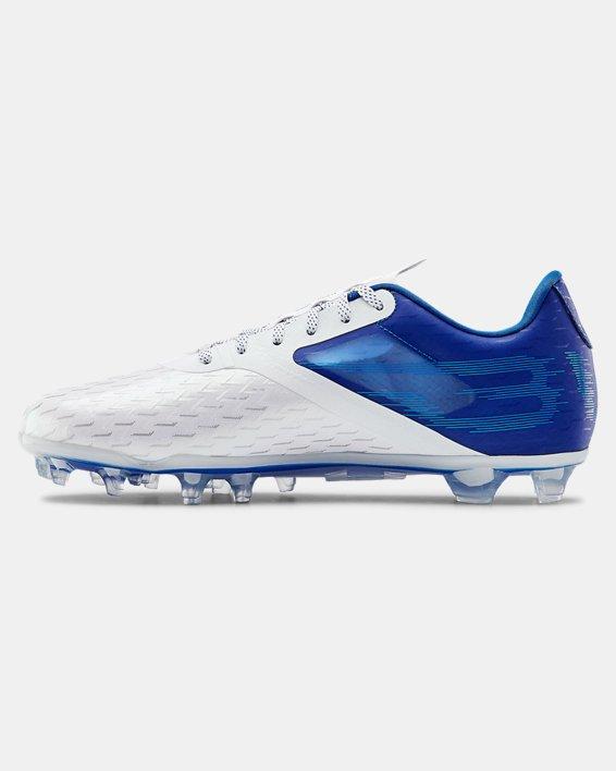 Men's UA Blur Lux MC Football Cleats, Blue, pdpMainDesktop image number 1