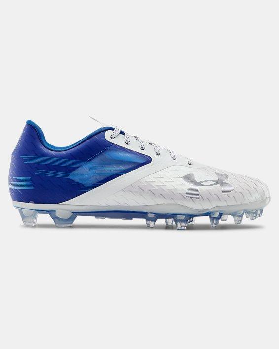 Men's UA Blur Lux MC Football Cleats, Blue, pdpMainDesktop image number 0