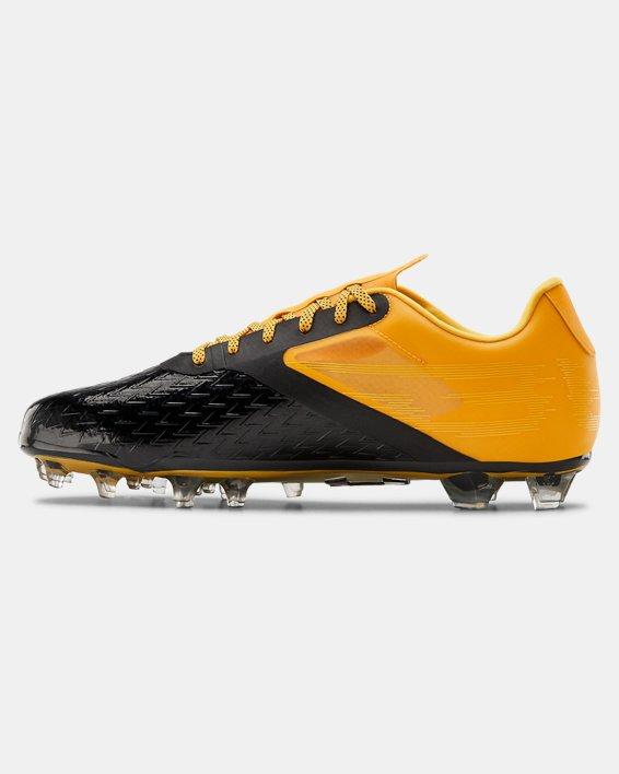 Men's UA Blur Lux MC Football Cleats, Yellow, pdpMainDesktop image number 1