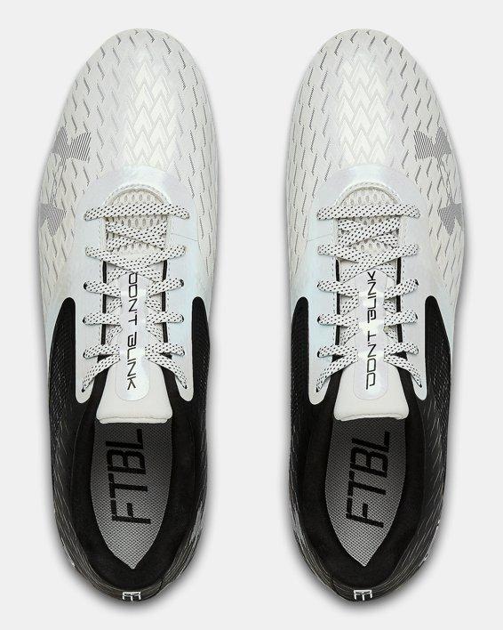 Men's UA Blur Select Low MC Football Cleats, Black, pdpMainDesktop image number 3