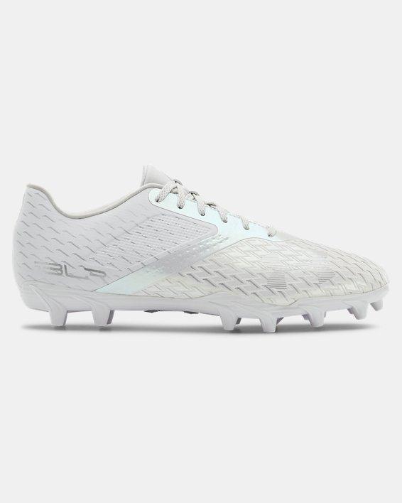 Men's UA Blur Select Low MC Football Cleats, White, pdpMainDesktop image number 0