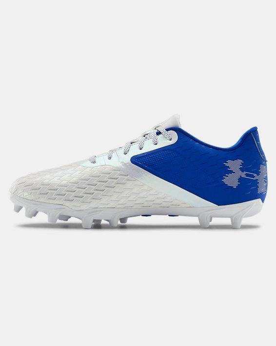 Men's UA Blur Select Low MC Football Cleats, Blue, pdpMainDesktop image number 1