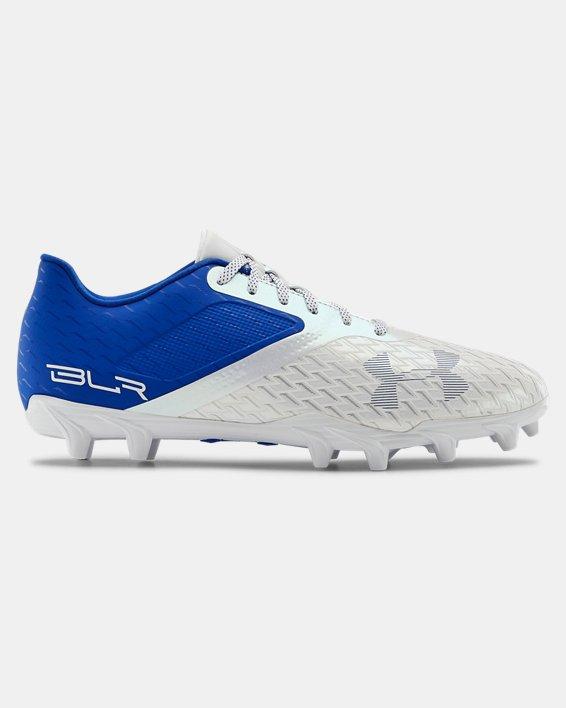 Men's UA Blur Select Low MC Football Cleats, Blue, pdpMainDesktop image number 0