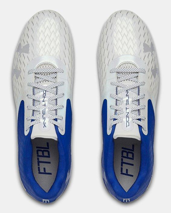 Men's UA Blur Select Low MC Football Cleats, Blue, pdpMainDesktop image number 3