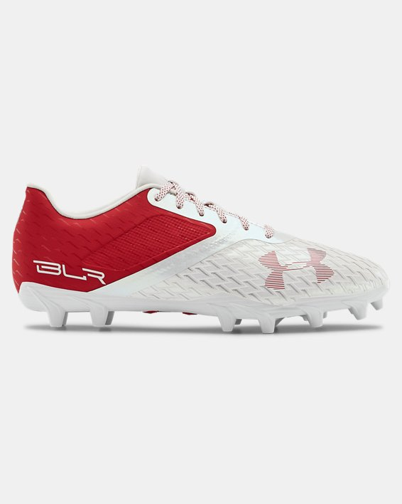 Men's UA Blur Select Low MC Football Cleats, Red, pdpMainDesktop image number 0