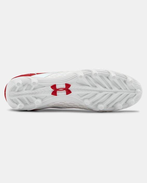 Men's UA Blur Select Low MC Football Cleats, Red, pdpMainDesktop image number 2