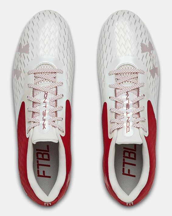 Men's UA Blur Select Low MC Football Cleats, Red, pdpMainDesktop image number 3