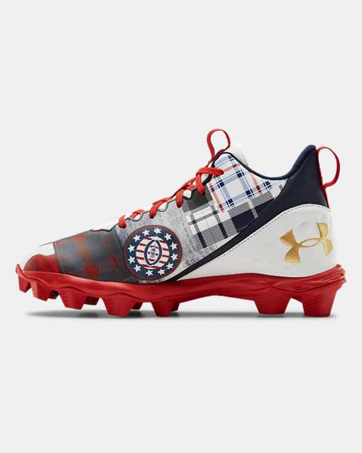 Boys' UA Spotlight Fran LE Amer Jr. Football Cleats