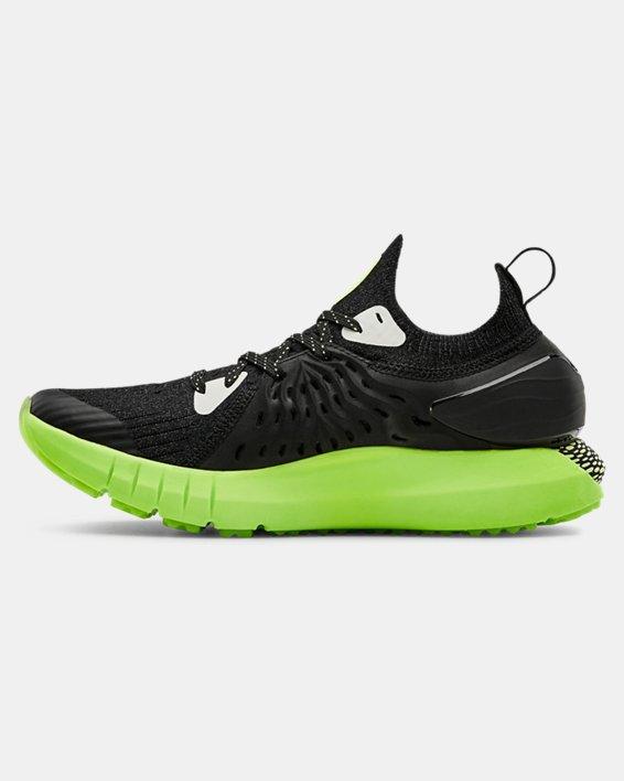 Grade School UA HOVR™ Phantom RN Glow Running Shoes, Black, pdpMainDesktop image number 1