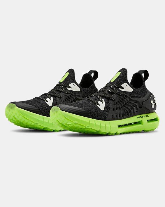 Grade School UA HOVR™ Phantom RN Glow Running Shoes, Black, pdpMainDesktop image number 4