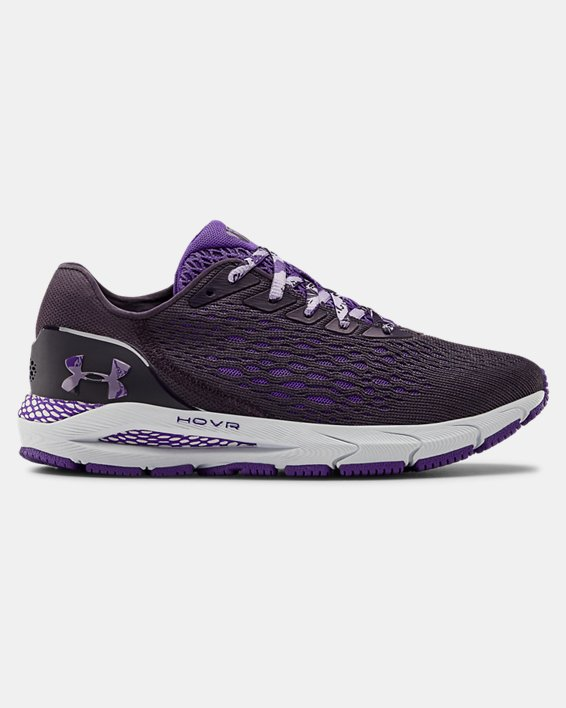 Women's UA HOVR™ Sonic 3 IWD Running Shoes, Purple, pdpMainDesktop image number 0