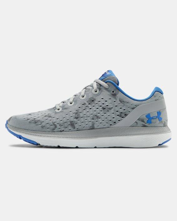 Men's UA Charged Impulse Exo Running Shoes, Gray, pdpMainDesktop image number 1