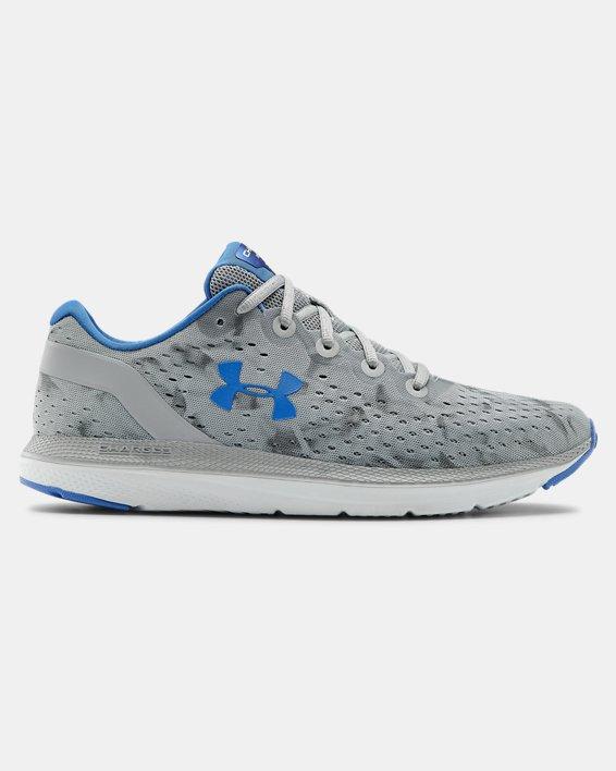 Men's UA Charged Impulse Exo Running Shoes, Gray, pdpMainDesktop image number 0
