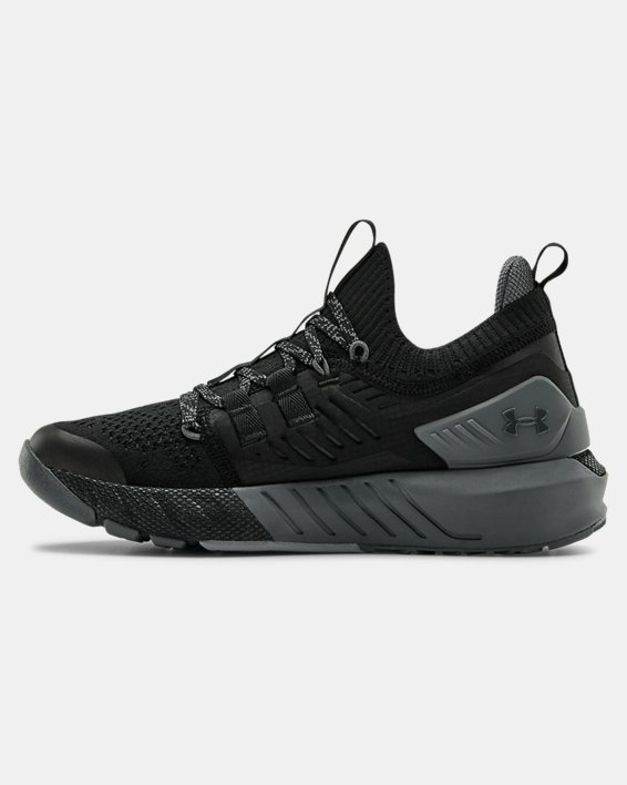 Grade School UA Project Rock 3 Training Shoes, Black, pdpMainDesktop image number 1