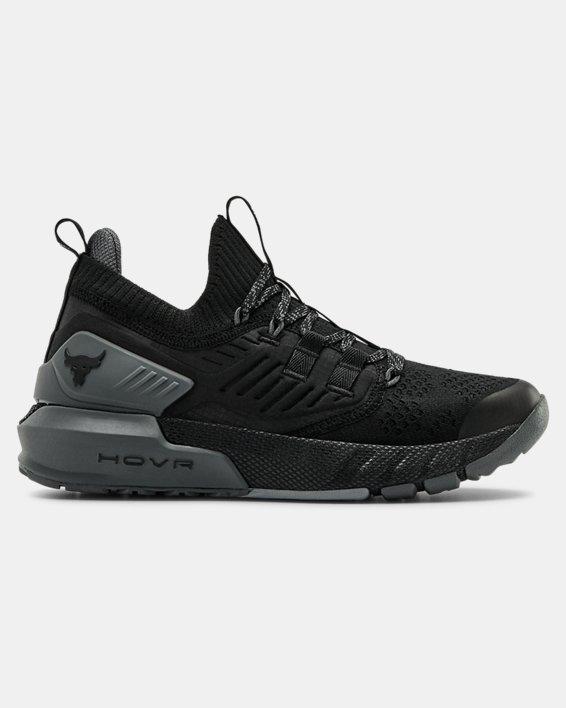 언더아머 프로젝트 락 3 빅키즈 트레이닝 슈즈 Under Armour Grade School UA Project Rock 3 Training Shoes,Black / Pitch Gray / Black - 001