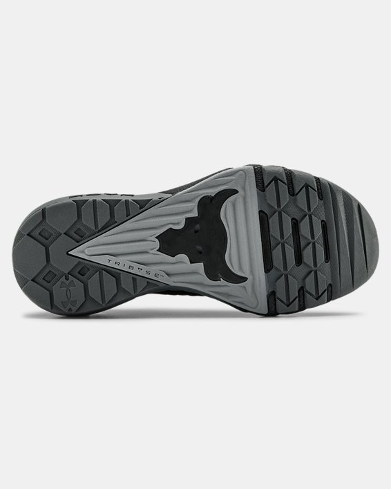 Grade School UA Project Rock 3 Training Shoes, Black, pdpMainDesktop image number 4