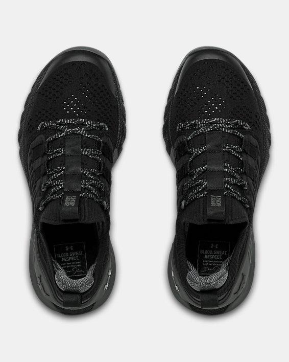 Grade School UA Project Rock 3 Training Shoes, Black, pdpMainDesktop image number 2