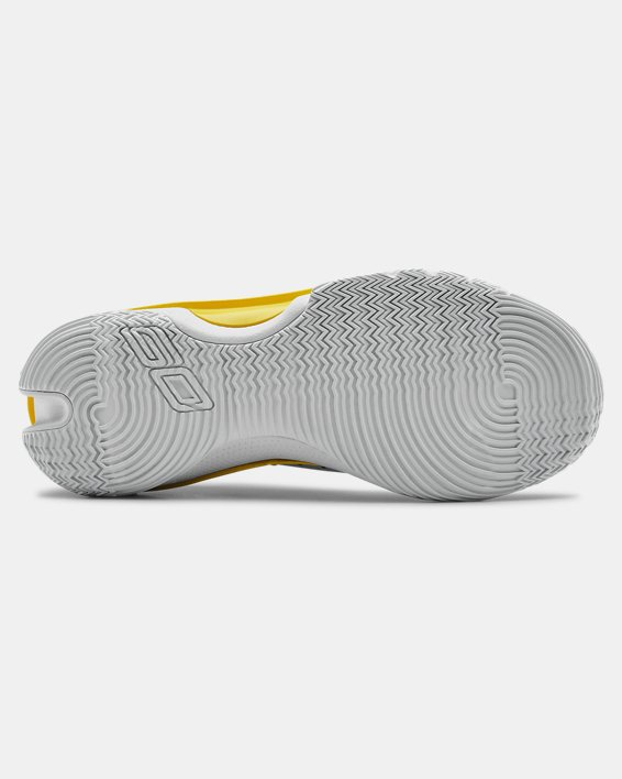 Adult UA Curry 7 TB Basketball Shoes, White, pdpMainDesktop image number 2