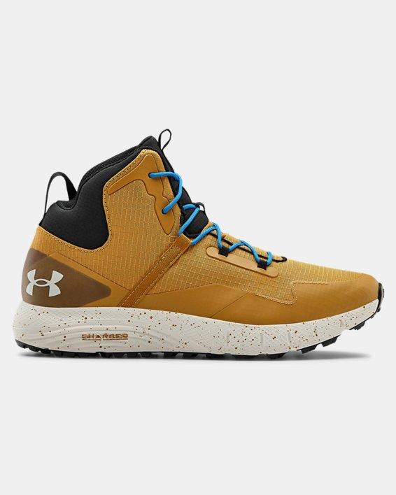 Unisex UA Charged Bandit Trek Trail Running Shoes, Yellow, pdpMainDesktop image number 0