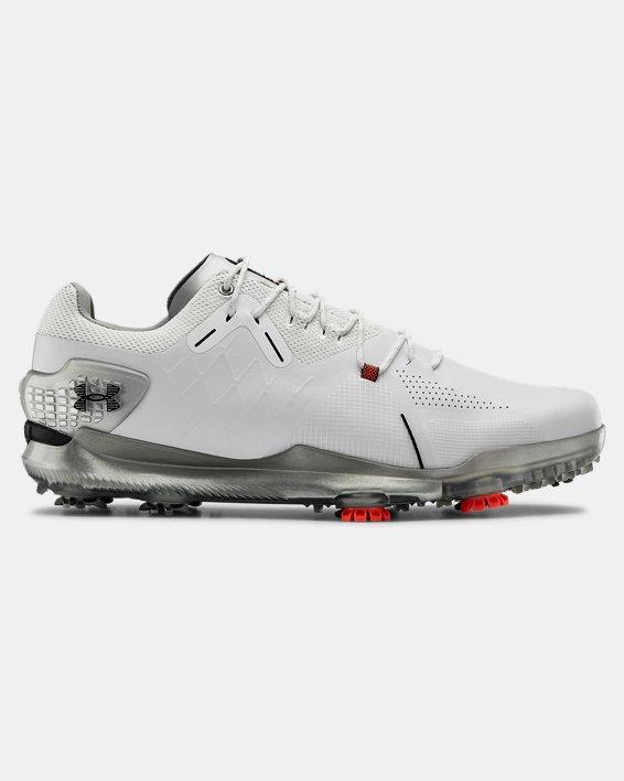 Men's UA Spieth 4 GORE-TEX® Wide EE Golf Shoes, White, pdpMainDesktop image number 0