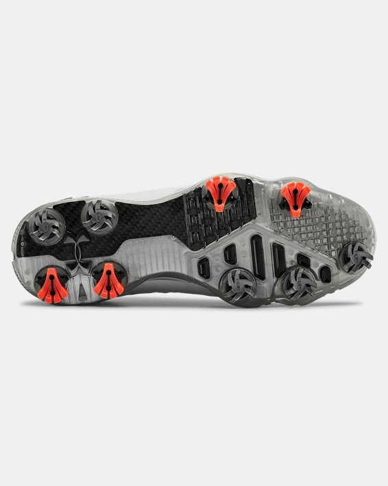 Men's UA Spieth 4 GORE-TEX® Wide EE Golf Shoes, White, pdpMainDesktop image number 2