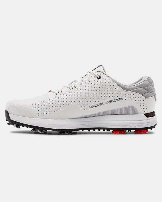 Men's UA HOVR™ Matchplay Wide E Golf Shoes, White, pdpMainDesktop image number 1