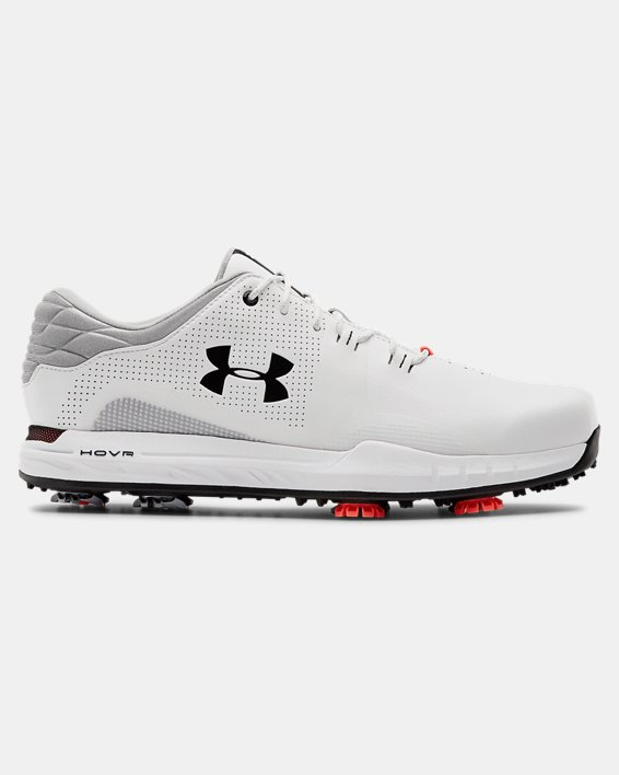 Men's UA HOVR™ Matchplay Wide E Golf Shoes, White, pdpMainDesktop image number 0