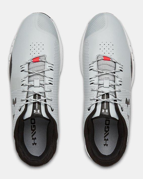 Men's UA HOVR™ Matchplay Wide E Golf Shoes, Gray, pdpMainDesktop image number 3