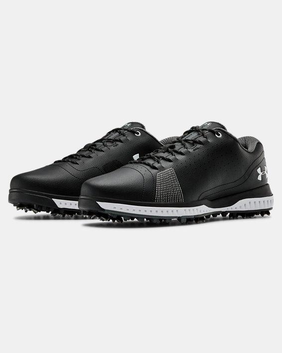 Men's UA Fade RST 3 Golf Shoes, Black, pdpMainDesktop image number 4
