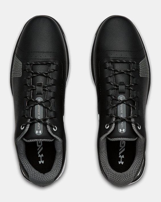 Men's UA Fade RST 3 Golf Shoes, Black, pdpMainDesktop image number 3