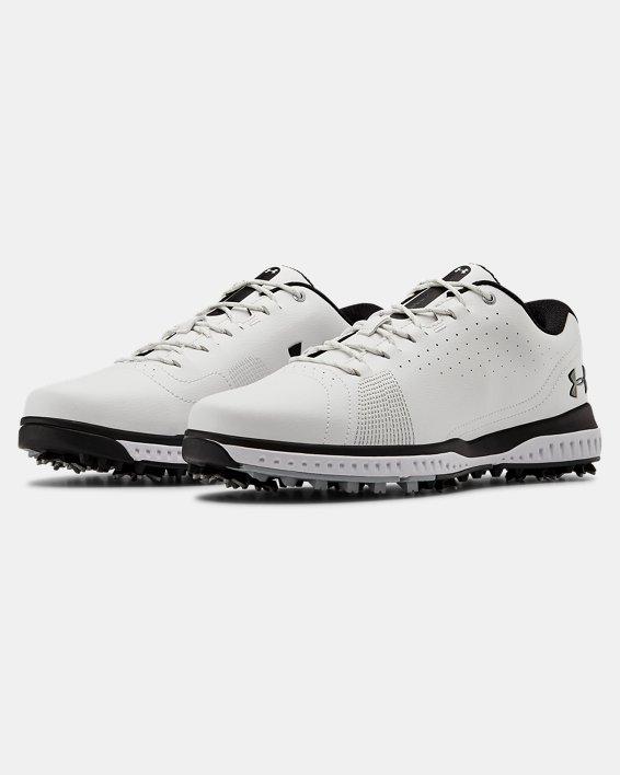 Men's UA Fade RST 3 Golf Shoes, White, pdpMainDesktop image number 4