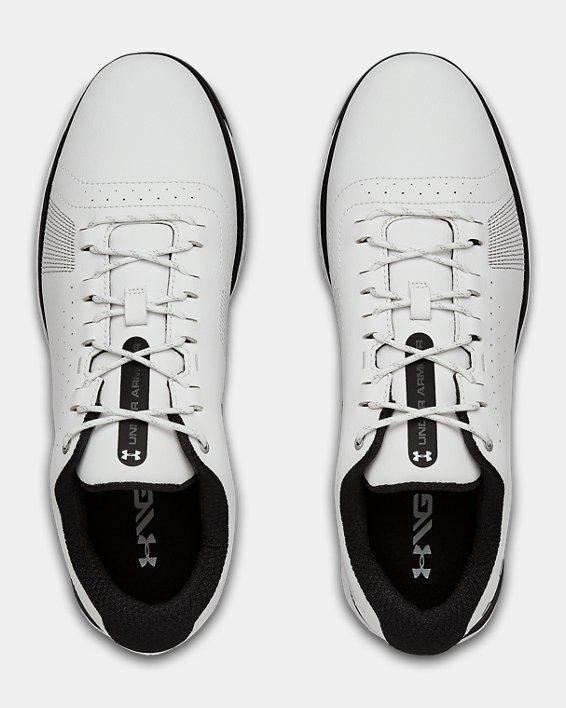 Men's UA Fade RST 3 Golf Shoes, White, pdpMainDesktop image number 3