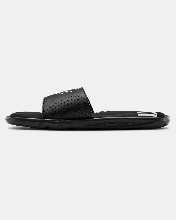 Men's UA Ignite Freedom Slides, Black, pdpMainDesktop image number 1