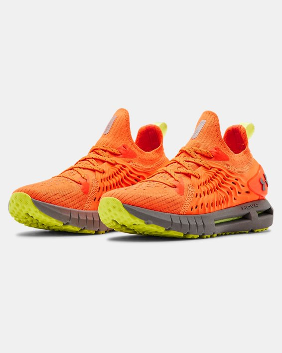Women's UA HOVR™ Phantom RN Night Running Shoes, Orange, pdpMainDesktop image number 4