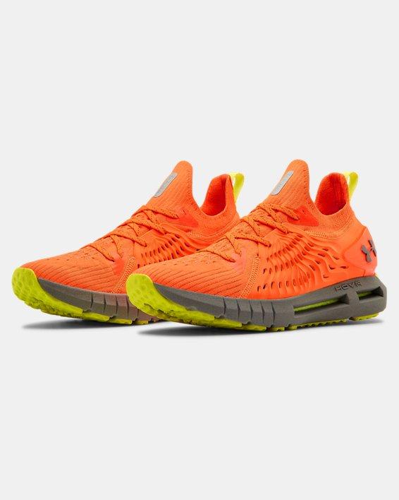 Men's UA HOVR™ Phantom RN Night Running Shoes, Orange, pdpMainDesktop image number 4