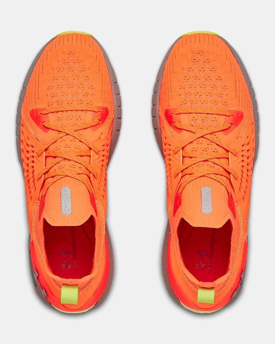 Men's UA HOVR™ Phantom RN Night Running Shoes, Orange, pdpMainDesktop image number 3