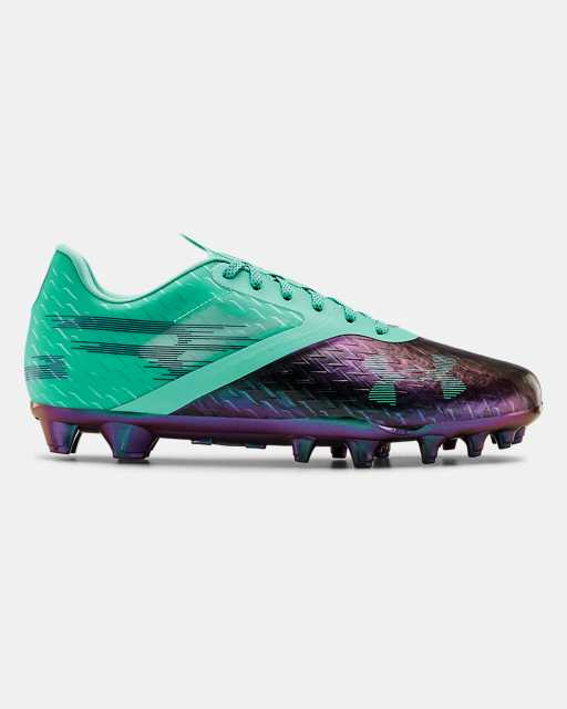 Men's UA Blur Lux LE Night Lights Football Cleats