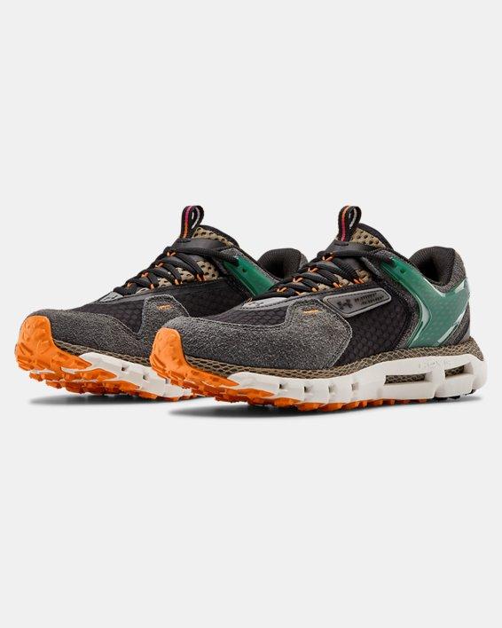 Unisex UA HOVR™ Summit Shoes, Green, pdpMainDesktop image number 4