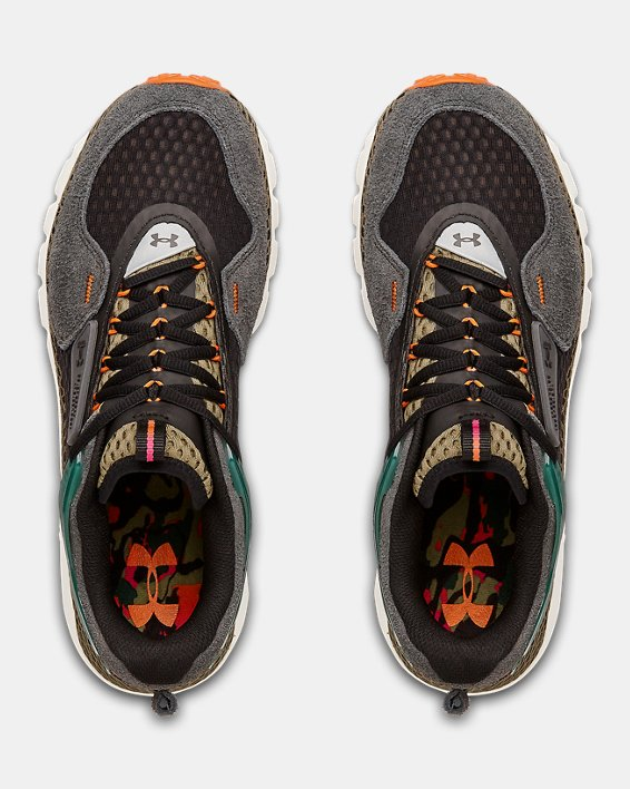 Unisex UA HOVR™ Summit Shoes, Green, pdpMainDesktop image number 3