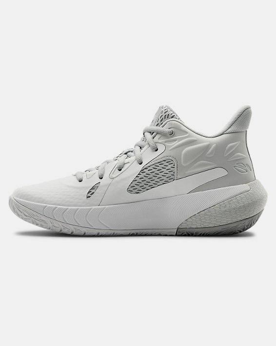 Women's UA HOVR™ Havoc 3 Basketball Shoes, White, pdpMainDesktop image number 1
