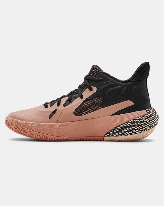 Women's UA HOVR™ Havoc 3 Basketball Shoes, Brown, pdpMainDesktop image number 1