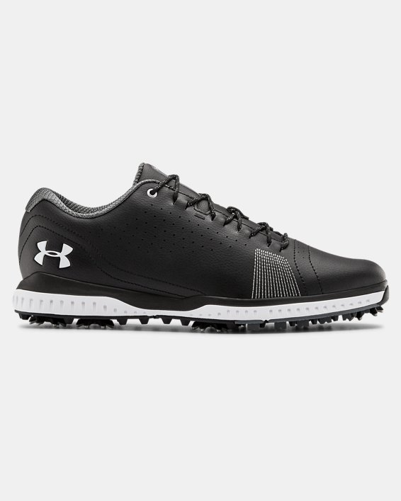 Men's UA Fade RST 3 Wide E Golf Shoes, Black, pdpMainDesktop image number 0