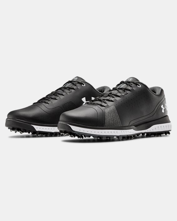Men's UA Fade RST 3 Wide E Golf Shoes, Black, pdpMainDesktop image number 4